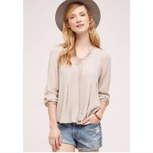 Anthropologie Floreat Mada Swing Blouse